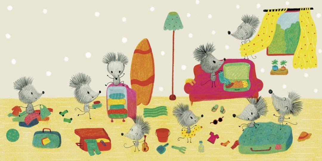 Ilustración de Ratos de Viaxe